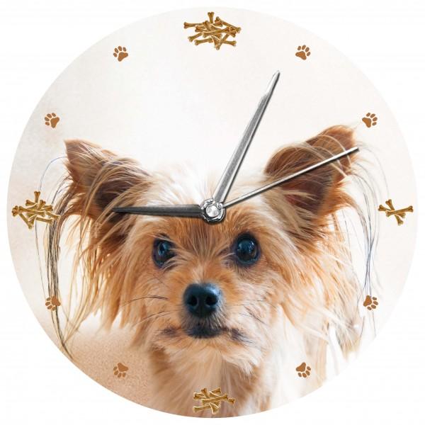 """Hunde Uhr """"Yorkshire Terrier"""""""
