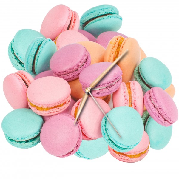 Macarons - Uhr