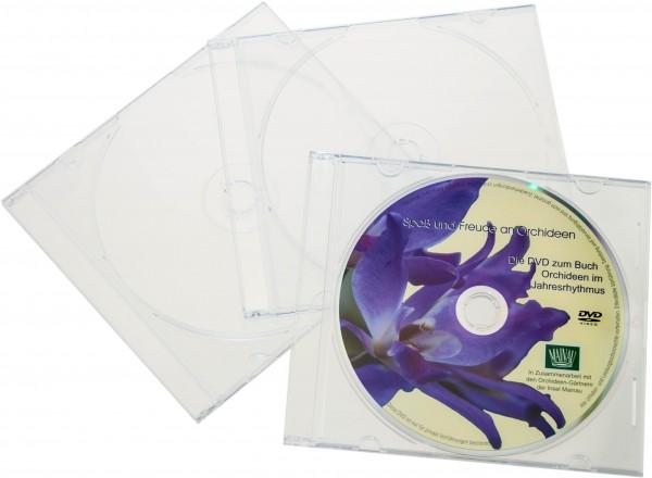 SALE | CD-Hüllen - Slim case kristallklar 50 Stück