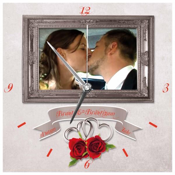 Hochzeits-Uhr Design 10
