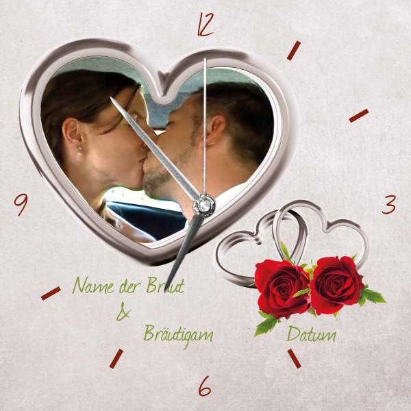 Hochzeits-Uhr Design 9