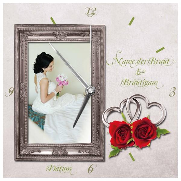 Wanduhr - Hochzeits-Uhr Design 15