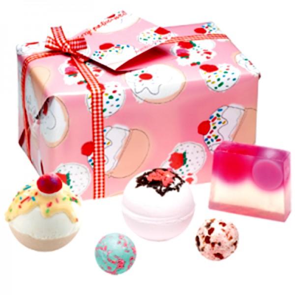Geschenkeset - Cherry Bathe-well
