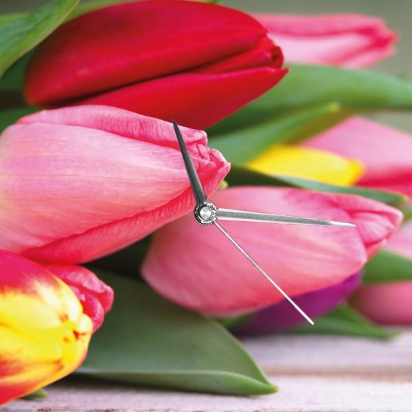 Tulpen - Wanduhr