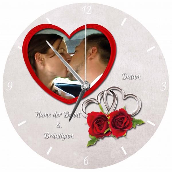 Hochzeits-Uhr Design 12