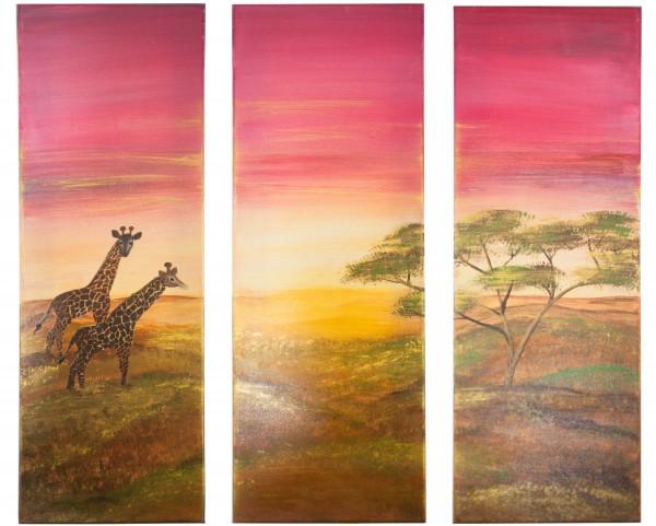 Triptychon - Afrika